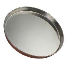 29,2 cm Assiettes rondes en acier inoxydable Thali pour la vaisselle indienne et les ustensiles de cuisine
