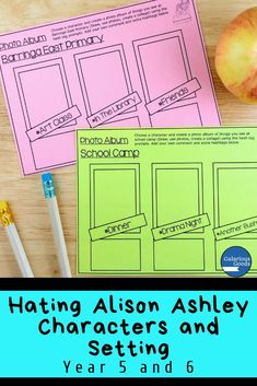 Hating Alison Ashley Characters and Setting Teaching Activities, Teaching Strategies, Teaching Ideas, Language Study, Language Arts, Create Photo Album, Character Activities, Maths Investigations, Teacher Resources