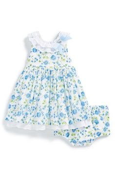 Little Me Floral Print Dress & Bloomers (Baby Girls) available at #Nordstrom