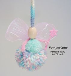 Pom Pom Fairy by Kristi Pickup - Pomporium
