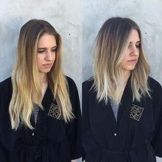 Chic for fall  @ninezeroone #ninezeroone #901girl #beforeandafter #balayage #midlength #texturedhair