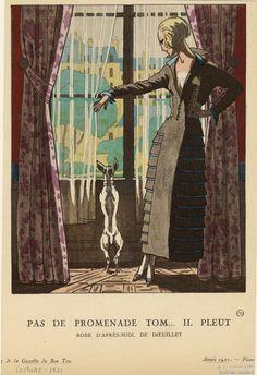 Robe d'après-midi, de Doeuillet. (1921)