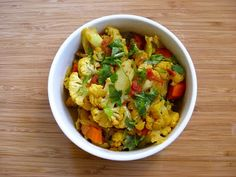 Cauliflower with Indian Spices