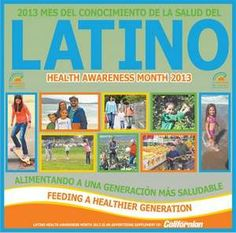 September is Latino Health Awareness Month in the US. Go to www.healthaware.org for link to more information.