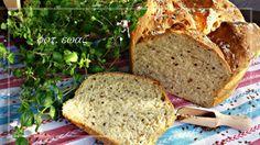 Ewa w kuchni: Chleb z garnka z kozieradką i siemieniem lnianym