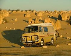Toyota Hiace desert