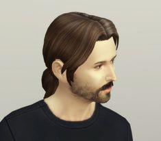 Rusty Nail: Derek`s ponytail • Sims 4 Downloads
