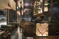 Nobu Restaurant in the City of New York | Restaurant Interior Design | Seeyond