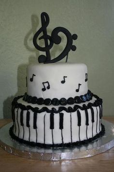 ... about Piano on Pinterest | Piano cakes, Music notes and The piano
