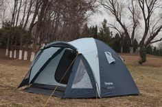 KingCamp Holiday Fire-resistant 3-Person 3-Season outdoor Tent for Family  Camp #KingCamp #PopUp