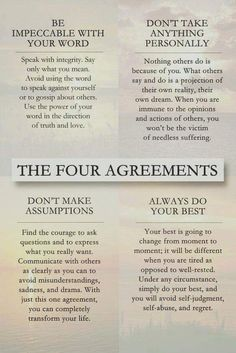 Wisdom from Don Miguel Ruiz Opinion Words, Self Awareness Quotes, Quotes To Live By, Life Quotes, Wisdom Quotes, The Four Agreements, Mind Over Matter, Self Improvement Tips, The Victim