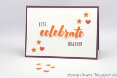 Let's celebrate #gdp111, #fabfri124 Stampin up: Happy Celebrations, Mini-Leckereientüte, Wink of Stella