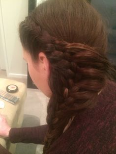 French plait recreated