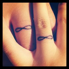 Getting matching tattoos for couples is a big decision, and a permanent one. Here are some ideas to get you started with couples' matching tattoos! Wedding Band Tattoo, Tattoo Band, Tattoo Hurt, Wedding Rings, Couple Tattoos, Love Tattoos, Beautiful Tattoos, Tatoos, Awesome Tattoos