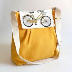 etsy canvas bicycle flap square handbag