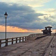 Puerto Colombia Sidewalk, Barranquilla, Colombia, Side Walkway, Walkway, Walkways, Pavement