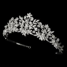 Neidy Swarovski Crystal and White Pearl Wedding Bridal Tiara Fairytale Bridal Tiara http://www.amazon.com/dp/B00HRCD3ZS/ref=cm_sw_r_pi_dp_vlVXtb0YPXWFT87K