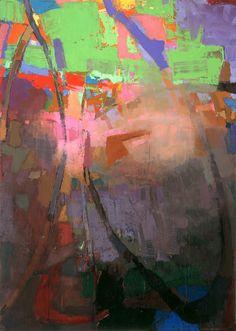 """Brian Rutenberg """"Pale Deep"""". Love his work"""
