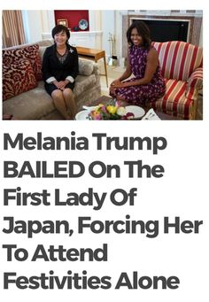 Can you just imagine if Mrs. Obama had done that!! (she wouldn't have, too much class to do something so ill mannered) Melania Trump does not want to be around her Disgusting husband and she doesn't want to be First Lady of the U.S.