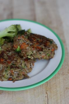 Grünkernpuffer mit Gemüse und Rinderhack So gesund, so gut! Carrots for Claire