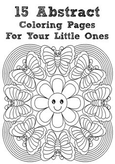 Abstract Coloring Pages   Free Printable