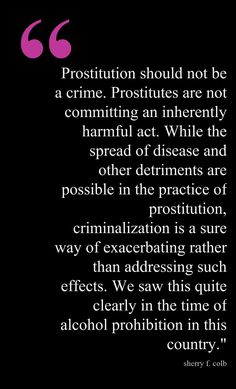prostitution comparison The benefits of legalizing prostitution essay prostitution is one of the most controversial subjects in the united states  compare and contrast two main.