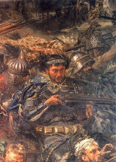 Battle of Grunwald (detail) - Jan Matejko