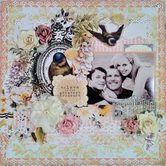 """Family"" **CT work Flying Unicorn KOM July Sunset Dreams** - Scrapbook.com"