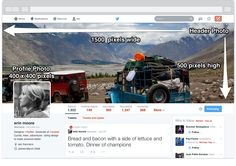 The New Twitter Profile Page: Complete Image Size Guide | MediaBistro | All Twitter | Shea Bennett | 4.23.2014