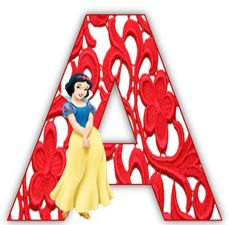 Snow White alphabet letters with arabesques in red. Disney Printables, Free Printables, Disney Princess Party, Princess Birthday, Snow White Birthday, Ball Birthday Parties, Celebration Background, Scrapbook Background, Party Rock