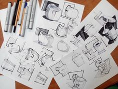 Sketching Product: practices on Behance