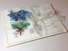 Vintage Roses  Upcycled Stationery Set by LaVieBoeretroos on Etsy, $8.00