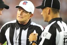 The real refs are back to work.