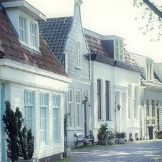white houses in Amsterdam