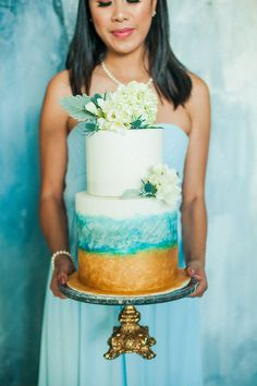 Love Letters Styled Shoot | Intimate Weddings - Small Wedding Blog - DIY Wedding Ideas for Small and Intimate Weddings - Real Small Weddings Small Weddings, Small Intimate Wedding, Beach Weddings, Intimate Weddings, Blue Colour Palette, Blue Color Schemes, Aqua Color, Wedding Blog, Diy Wedding