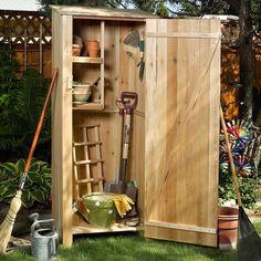 Western Red Cedar 2 ft. W x 2ft. D Hardwood Doweling Storage Shed