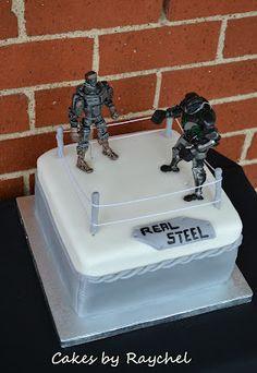 Real Steel Fondant Cake