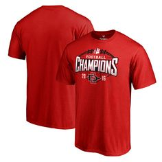 San Diego State Aztecs Fanatics Branded 2016 Mountain West Conference Football Champions T-Shirt - Red - $24.99