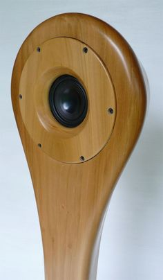 Audio Wood's Carved Wood Speaker Design Takes After a Mermaid #tech trendhunter.com