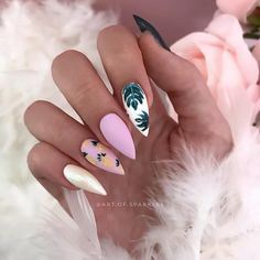Nail Art Designs In Every Color And Style – Your Beautiful Nails Summer Acrylic Nails, Best Acrylic Nails, Hair And Nails, My Nails, Grow Nails, Stiletto Nail Art, Summer Stiletto Nails, Summer Toenails, Super Nails