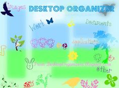 Spring into Action.  Organizational wallpaper for your computer!