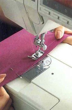 Способы выполнения трикотажных швов на обычной швейной машине