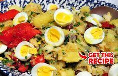 How to make Portuguese businessman's salt cod (Bacalhau à Gomes de Sá). Fish Dishes, Main Dishes, Potato Gratin Recipe, Portuguese Recipes, Portuguese Food, Parsley Recipes, Vegetarian Recipes, Cooking Recipes, Fish Recipes