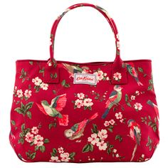 British Birds Embossed Handbag Tote | Cath Kidston |