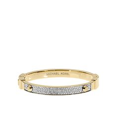 Stack your arm with standout sparklers like our cult-favorite Astor bracelet. Perfectly embellished with the prettiest pavé detail, this gold-tone piece will be a dazzling addition to a wrist full of mix-and-match metallics. Wear it to add an instant dose of glamour to any outfit, piling it up with an oversized watch and studded bangle for a rock-chic finish.