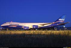 Silkway Boeing 747 freighter