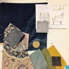 We've got an inside look at some of our merchandising department's favorites of the season! Which room would this palette work best in? #duraleeinthestudio