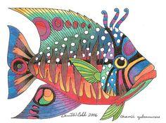 fish by illustrator David Cobb