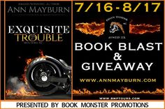 Blog Tour & Giveaway | Exquisite Trouble ~ Iron Horse MC, #1 by Ann Mayburn  http://www.booksandfandom.com/2014/07/blog-tour-giveaway-exquisite-trouble.html