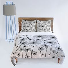 Dandelion Wish Duvet Cover For By Barbara Griffin Products Griffins And Covers